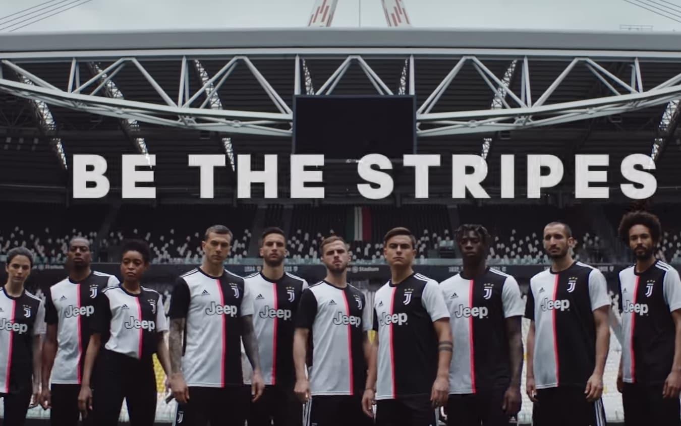 Juventus, presentata la maglia ufficiale 2019-2020. FOTO e VIDEO ...