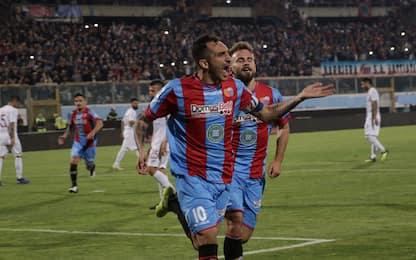 Playoff Serie C, rimonta Catania: 2-2 col Trapani