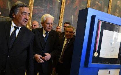 Federscherma, 110 anni: l'omaggio di Mattarella