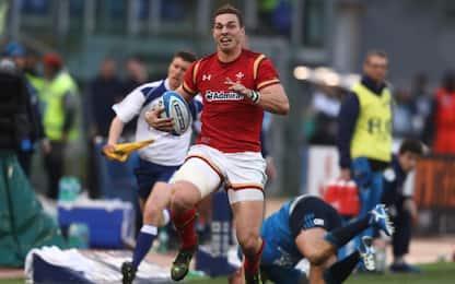 Rugby, l'Italia dura un tempo: Galles ok 33-7