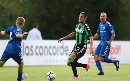 Amichevoli: 21 gol del Sassuolo, 12 per il Crotone