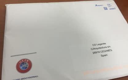 Lettera UEFA rubata: il Leganes e la storia virale