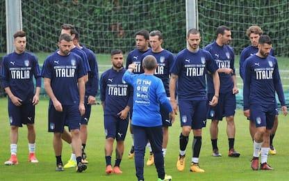 Italia in emergenza, sarà 3-4-3: Verdi titolare