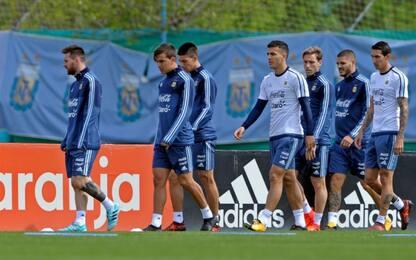 Argentina, Icardi e Dybala ancora in panchina