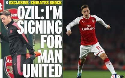 """Arsenal, Özil ai compagni: """"Vado allo United"""""""