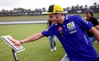 """Rossi ricorda il Sic: """"Sempre nei nostri cuori"""""""