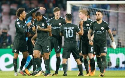 Il Napoli domina, ma il City rimonta e vince 4-2
