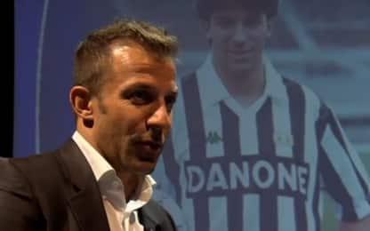 Da Agnelli alla B, Del Piero ricorda la sua Juve