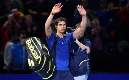 Finals, Goffin batte Nadal. Ritiro per Rafa