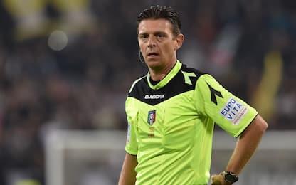 Serie A, designazioni arbitrali della 20^ giornata