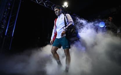 Finals: alle 15 Federer-Goffin, poi Dimitrov-Sock
