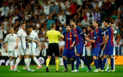 Real Madrid-Barça, al Bernabéu si decide la Liga