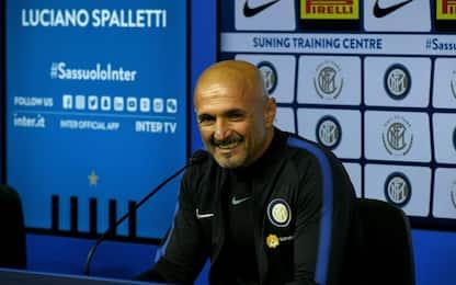 """Spalletti: """"Mercato? Sabatini è come Icardi"""""""