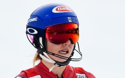 Slalom Lenzerheide, Shiffrin fuori: vince Vlhova