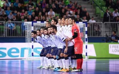Euro Futsal, Italia fuori: la Slovenia vince 2-1
