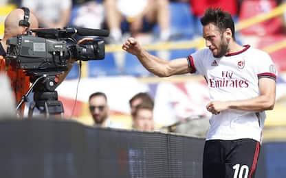 Calha-Bonaventura: il Milan vince 2-1 a Bologna