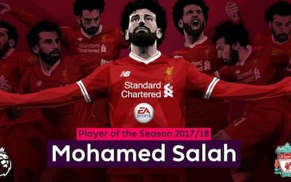 Premier, Salah giocatore dell'anno: 34esimo premio