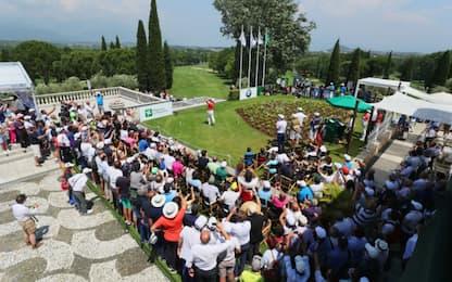 Chicco, Matteo e lo spettacolo dell'Open d'Italia