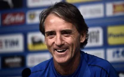 """Mancini: """"Fate giocare i giovani italiani"""""""