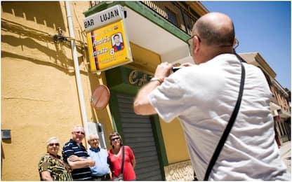 Lujan, un bar aperto solo per i match di Iniesta