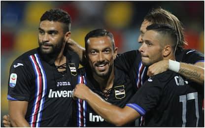 Pokerissimo Sampdoria, il Frosinone crolla 5-0
