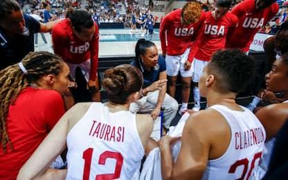 Basket femminile, i Mondiali in esclusiva su Sky