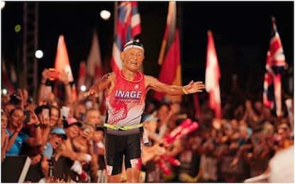 Ironman, record di Inada: completa corsa a 86 anni
