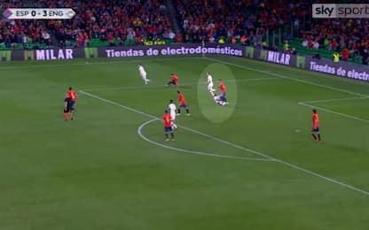 Ramos, pestone a Sterling: nuova bufera