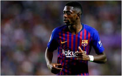 Barça, Dembelé punito per il ritardo: il club nega