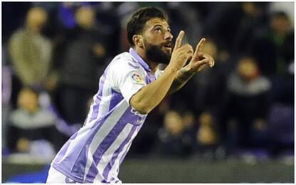 Verde salva il Valladolid, l'Espanyol è primo: 1-1
