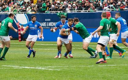Test match, poca Italia: 54-7 per l'Irlanda