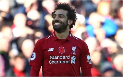 Salah, Fulham è la 19^ vittima in Premier: VIDEO