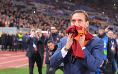 """In the name of Rome"": Totti nella Hall of Fame"