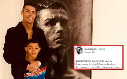 Il mega regalo di Bernardeschi a Ronaldo