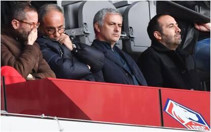 "Mourinho spunta a Lille: ""No, non state sognando"""