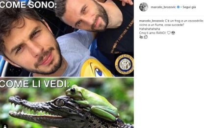 Brozo e Ranocchia, il siparietto su Instagram