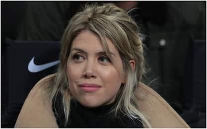 """Wanda: """"L'Inter è la nostra famiglia. La fascia.."""""""