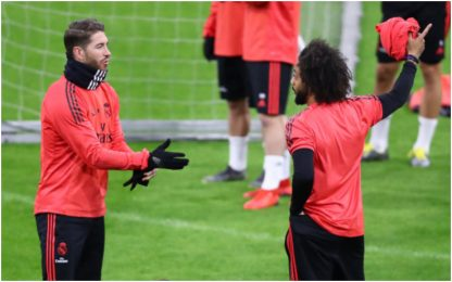 Caos Real, lite in allenamento tra Ramos e Marcelo
