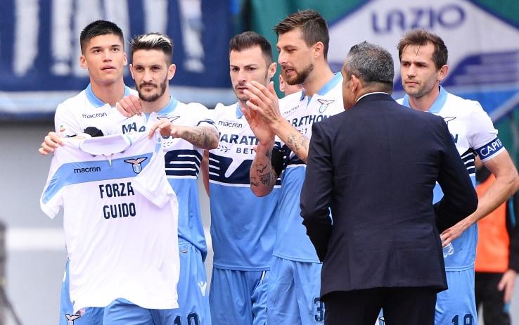 Lazio-Parma: Luis Alberto dedica gol a Guido Guerrieri, terzo ...