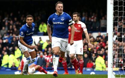 Ottimismo Napoli, l'Arsenal cade 1-0 con l'Everton