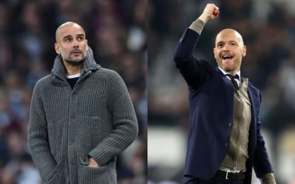 Pep eliminato, l'allievo Ten Hag supera il maestro