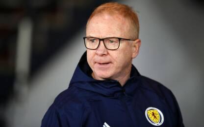 Scozia, la FA esonera il Ct Alex McLeish