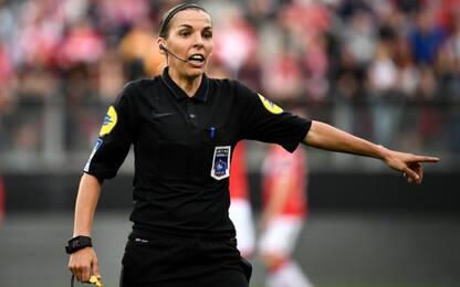Ligue 1, Stephanie Frappart primo arbitro donna