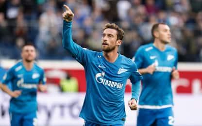 """Marchisio, 8° """"scudetto"""": è campione con lo Zenit"""