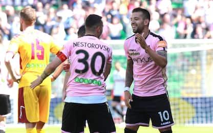 Un Palermo a metà: 2-2 col Cittadella e playoff