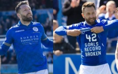 Dobbie, stagione super: 43 gol in Scozia a 36 anni
