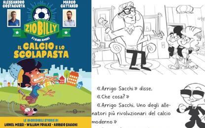 """Il calcio e lo scolapasta: il libro di """"Zio"""" Billy"""
