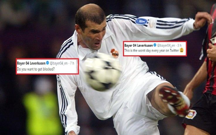 Bayer Leverkusen-Real Madrid, 17 anni fa il golazo di Zidane. Show ...