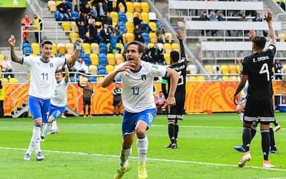 Frattesi-Ranieri, Italia U20 vince 2-1: Messico ko