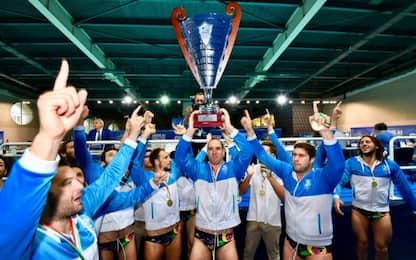 Pro Recco campione d'Italia: Brescia ko